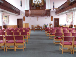 Needham Market Christchurch - inside